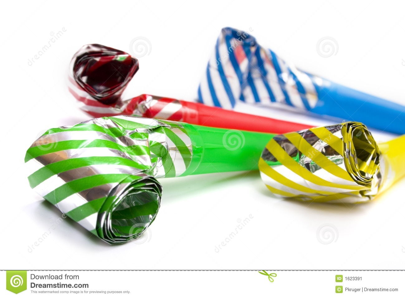 Christmas Eve Dress - Party whistle stock image image 1623391