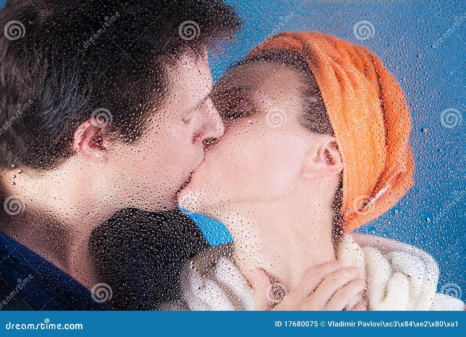 Pary całowanie