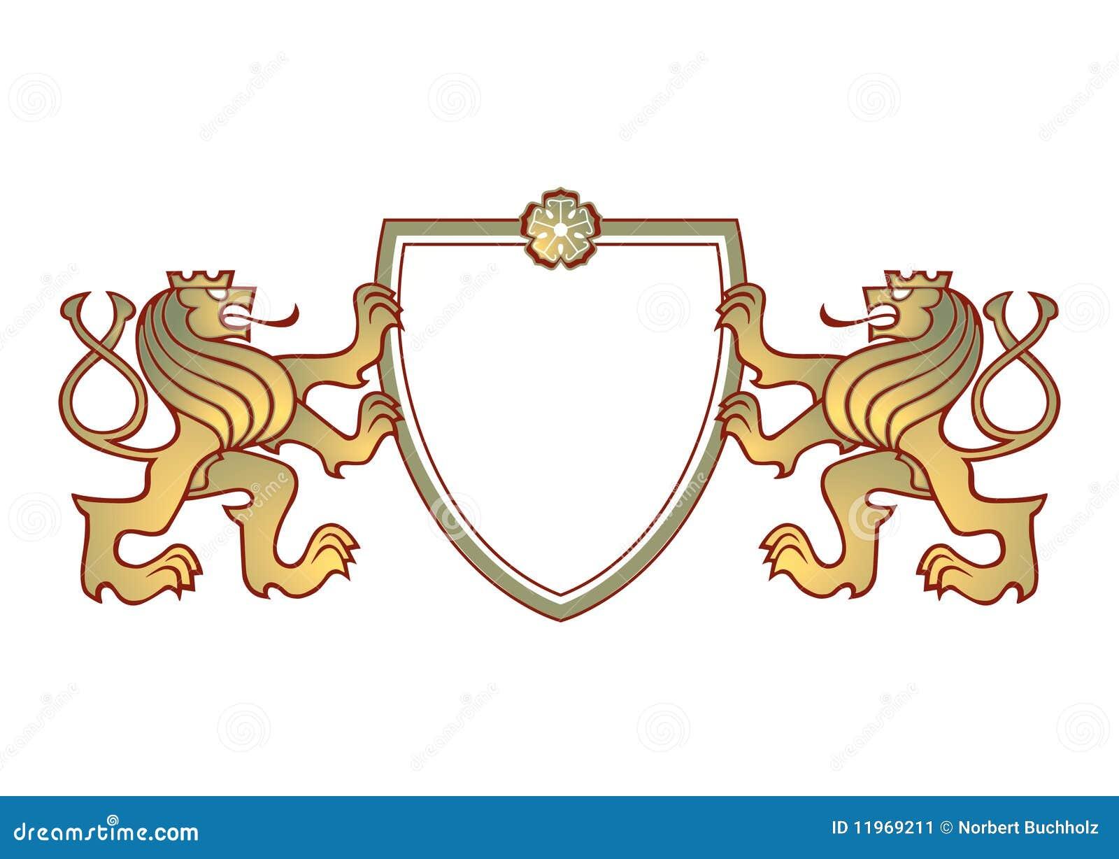 Pary grzebienia lwy