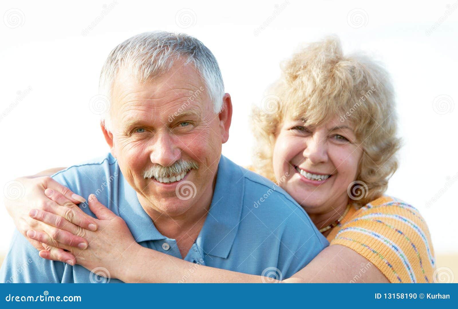Pary starszych osob seniory