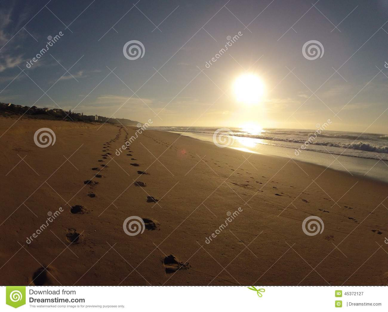 Pas en sable