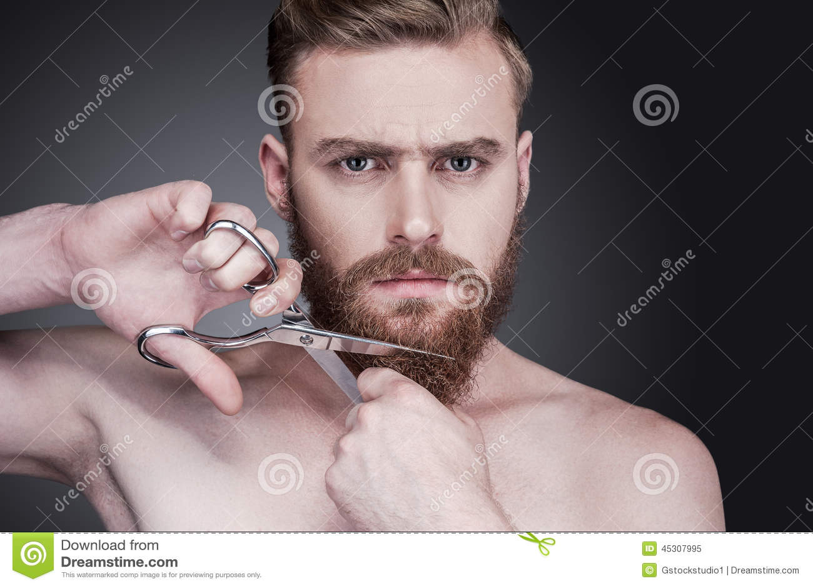 Pas plus de barbe