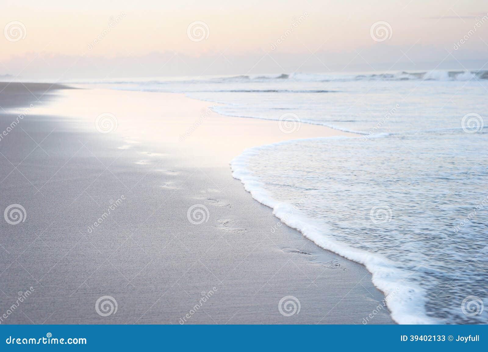 Pas sur la plage de Bali