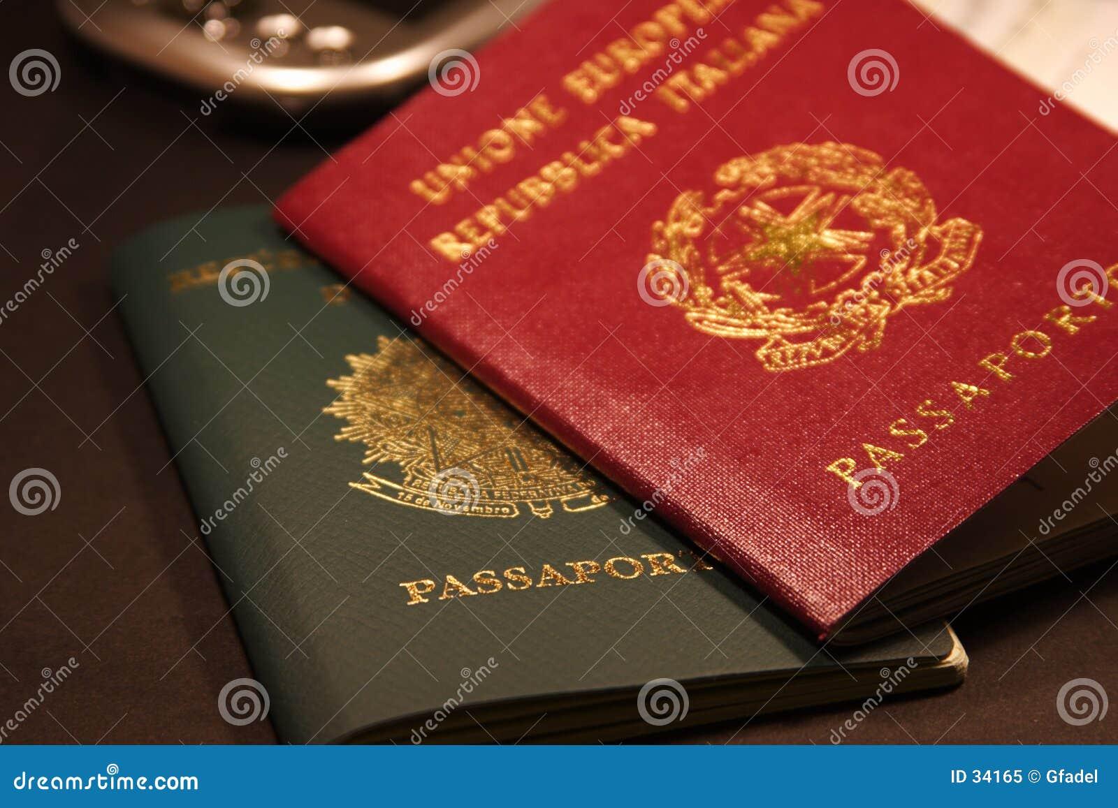 Download Pasaporte imagen de archivo. Imagen de aeroplano, vacaciones - 34165