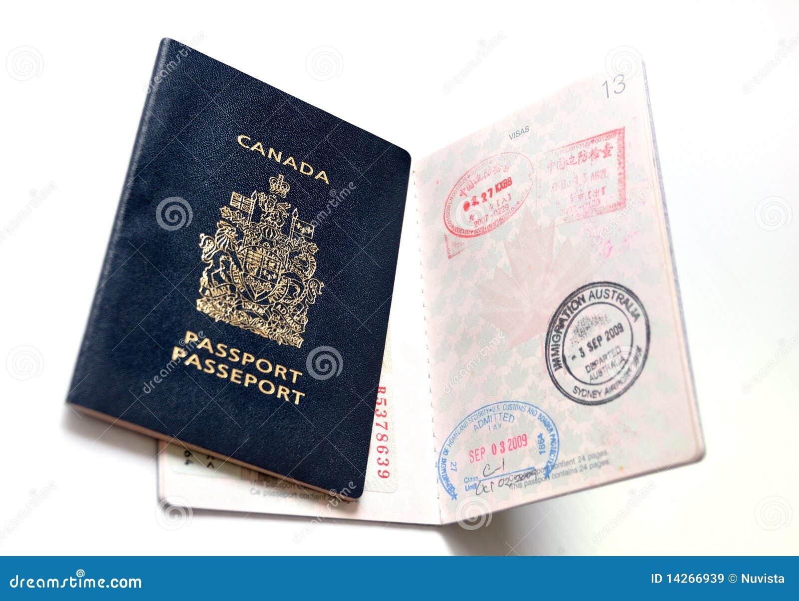 Pasaporte canadiense imagen de archivo. Imagen de unido - 14266939