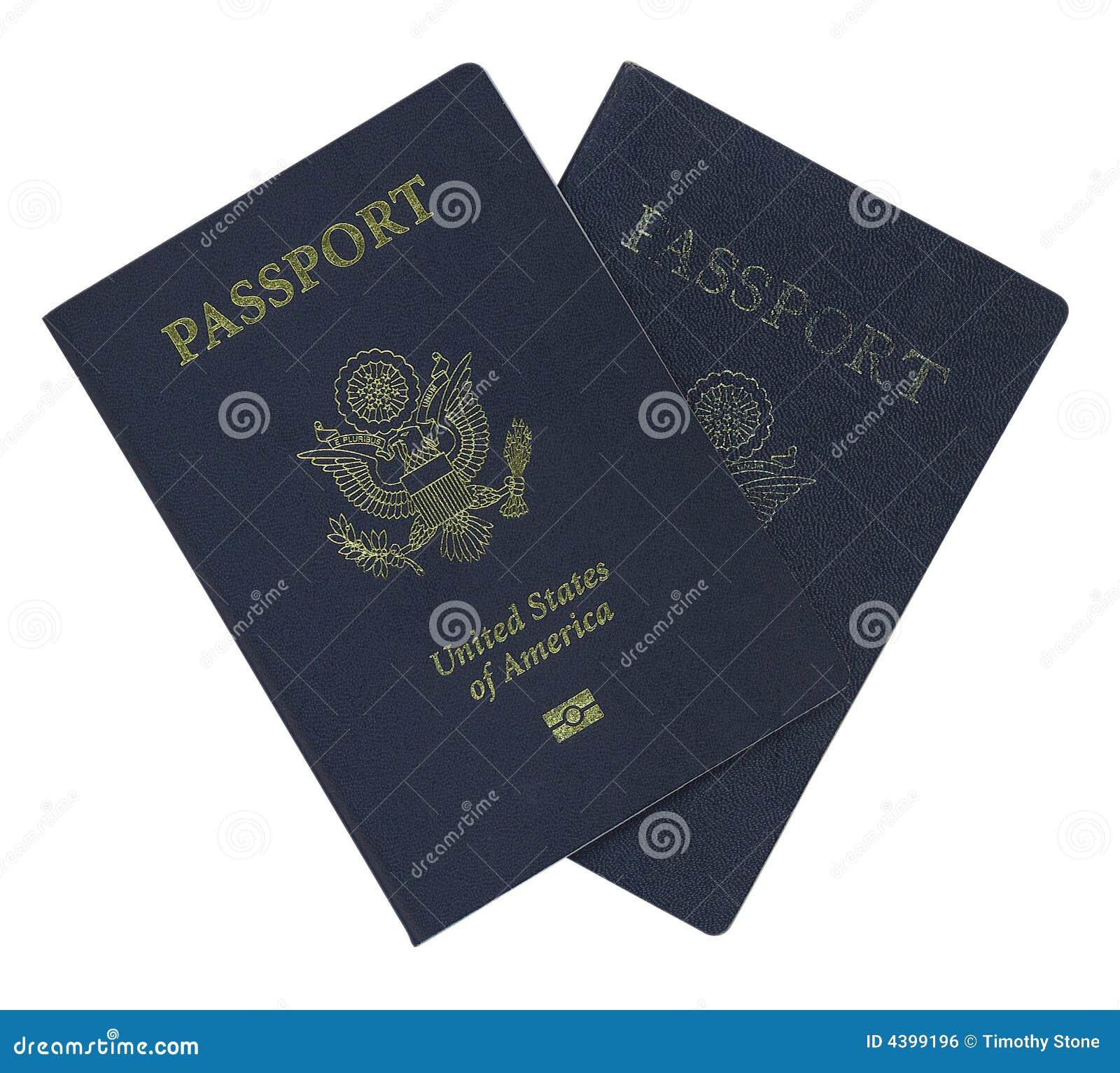 Pasaporte Del Reemplazo Foto De Archivo Imagen De Turista 4399196