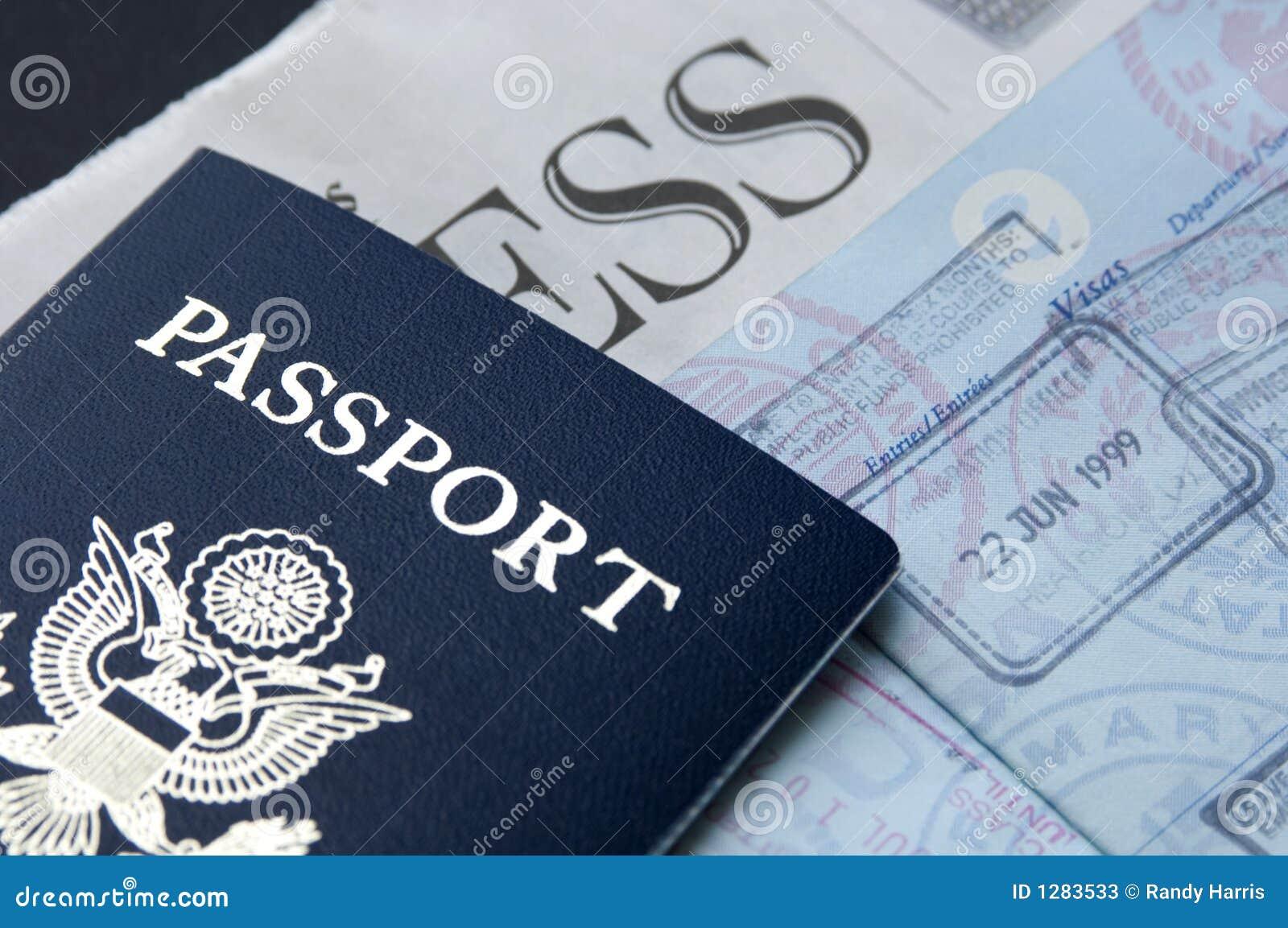 Pasaporte y asunto