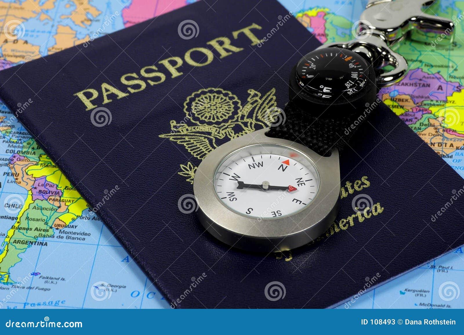 Pasaporte y compás