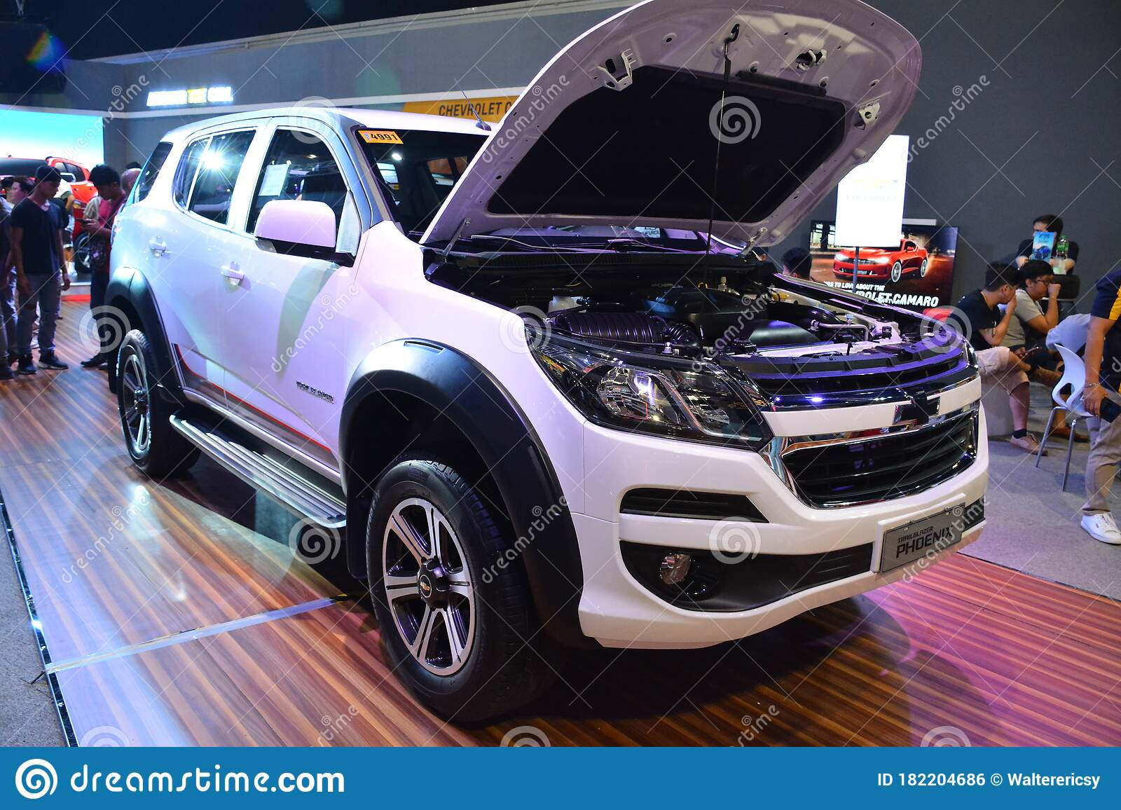 Chevrolet Trailblazer Phoenix Suv At Manila International Auto Show In Pasay Philippines Editorial Photo Image Of Mias International 182204686