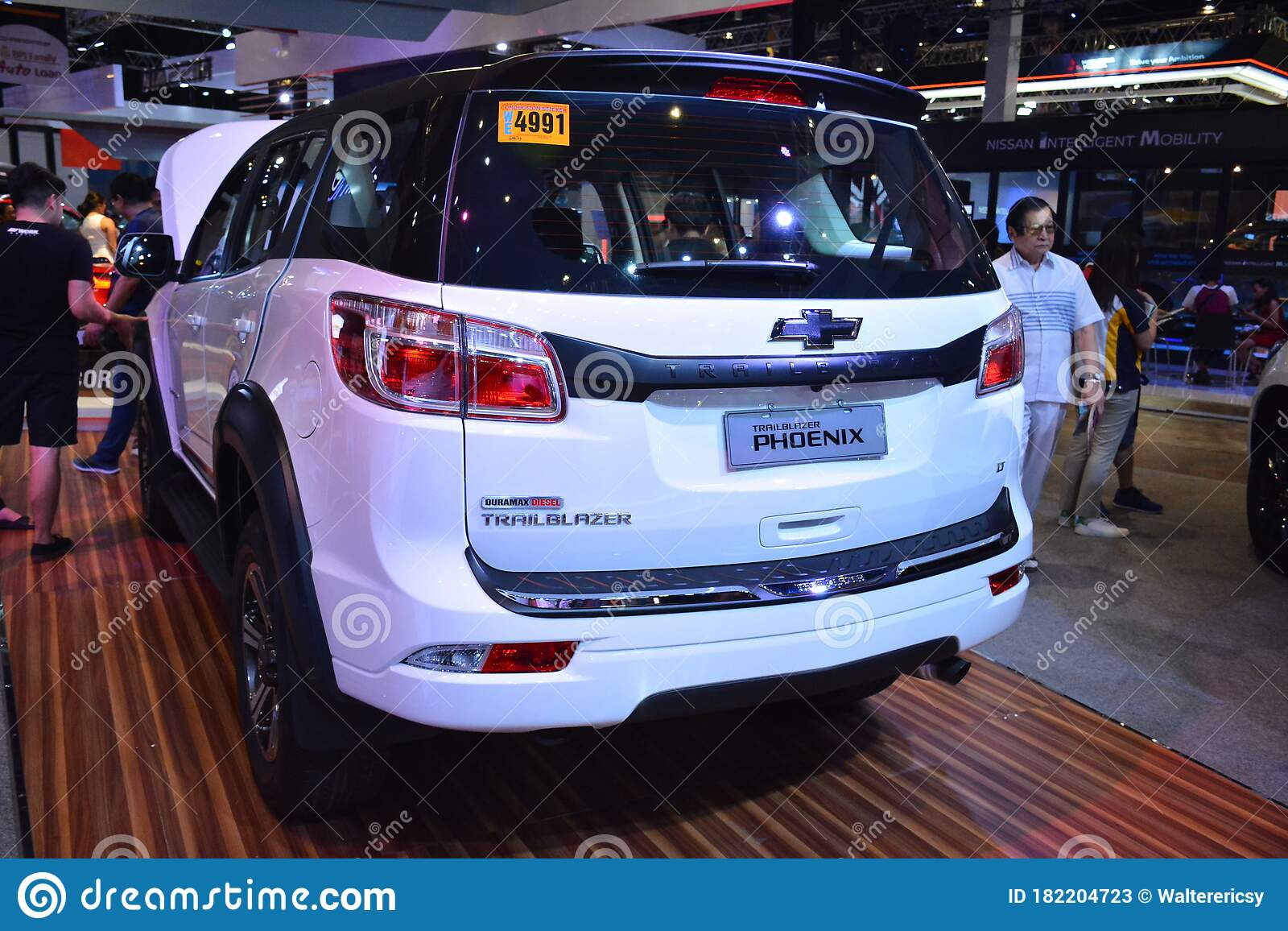 Chevrolet Trailblazer Phoenix Suv At Manila International Auto Show In Pasay Philippines Editorial Stock Photo Image Of Mias Vehicle 182204723