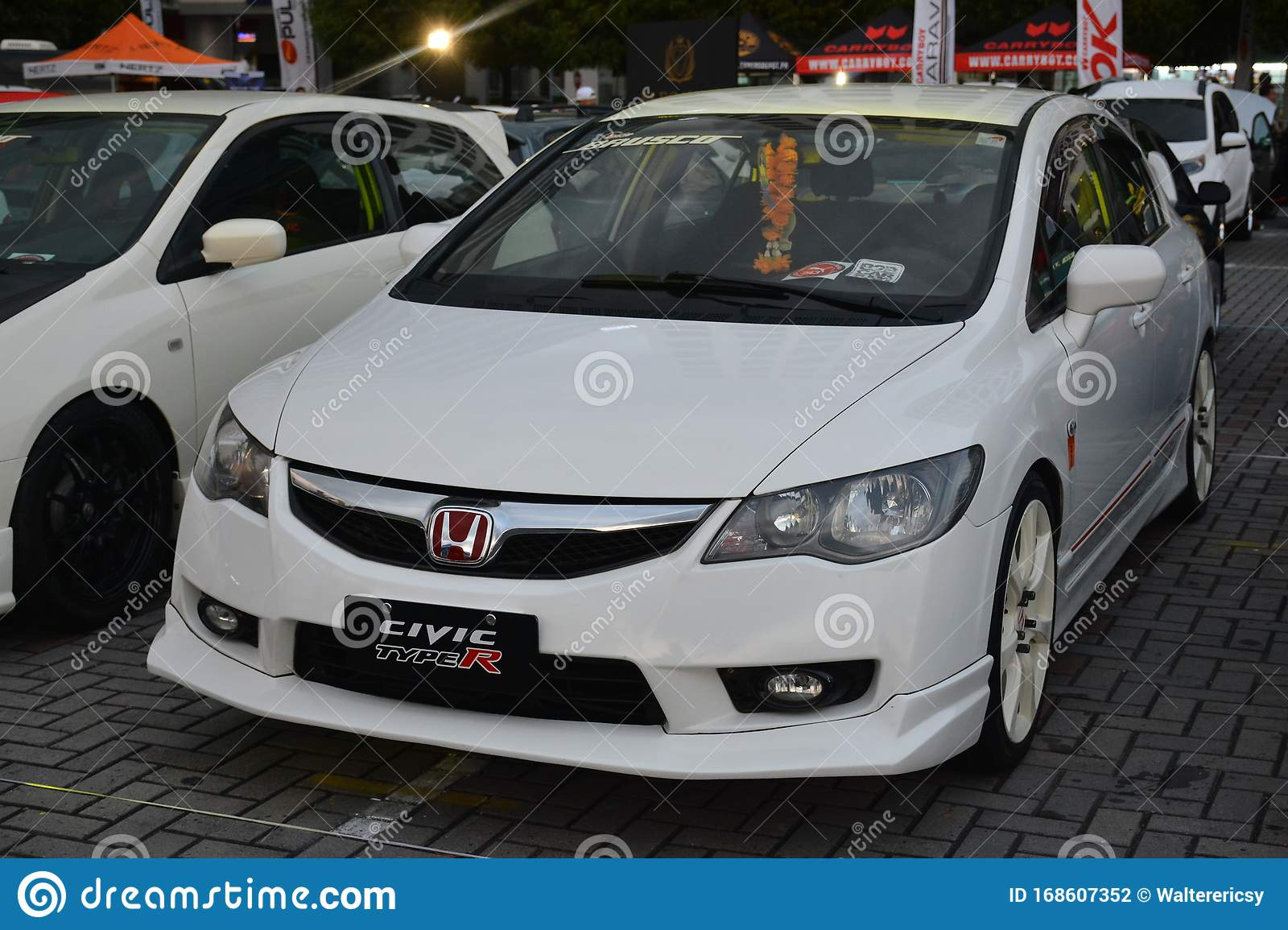 Honda Civic Type R At Bumper To Bumper 15 Car Show Editorial Photography Image Of Custom Modified 168607352