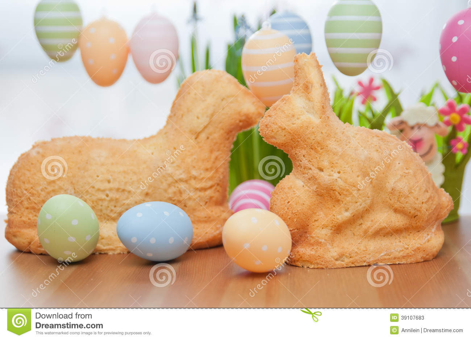Pascua Bunny Cake