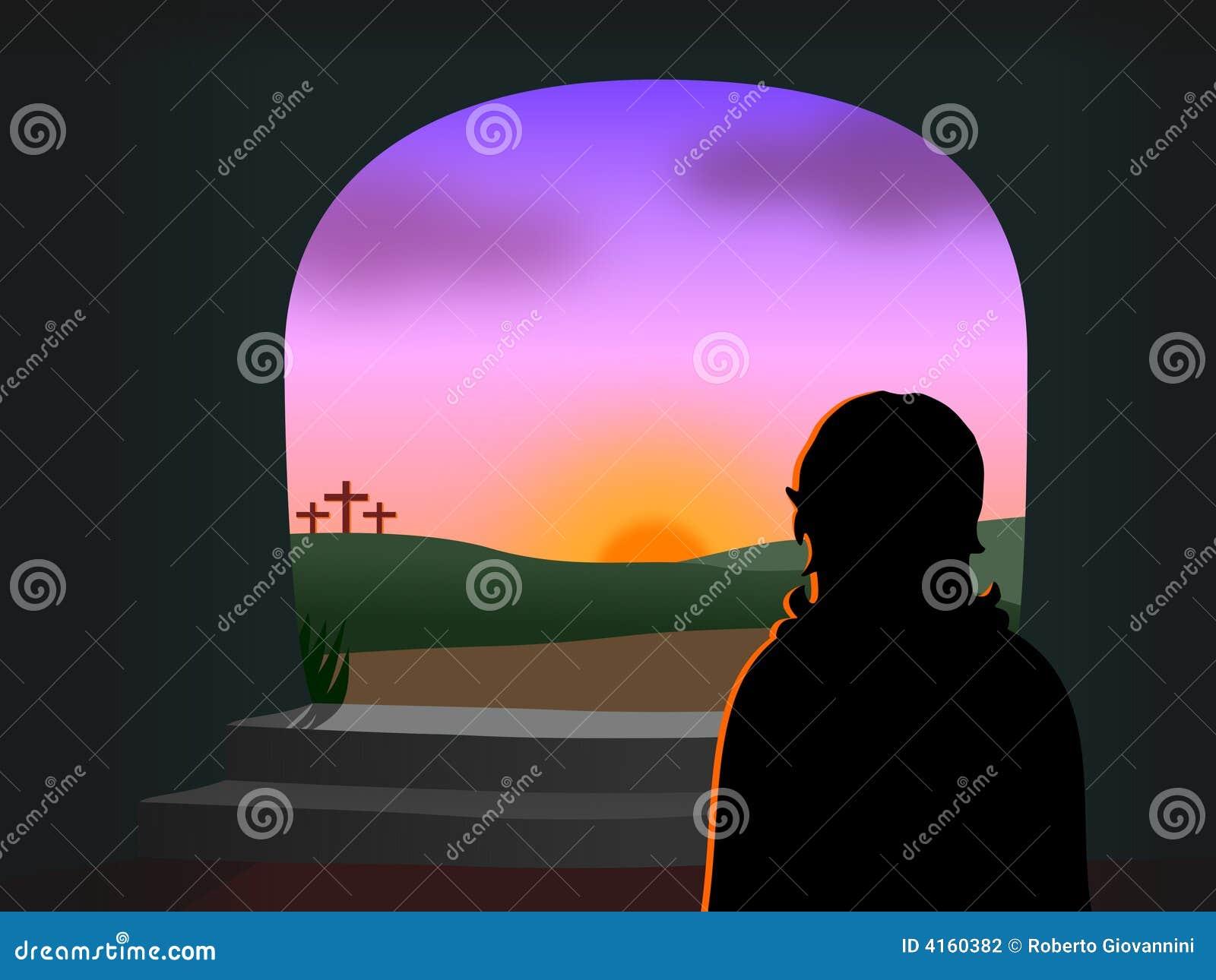 Pascua - se levanta Cristo
