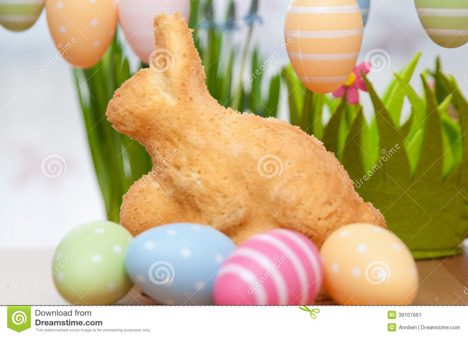 Pasen Bunny Cake
