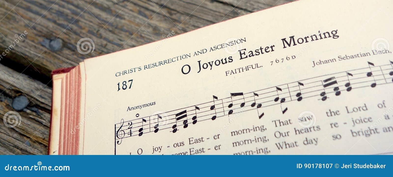 Pasen Christus Zich voorgedane Joy Joyous