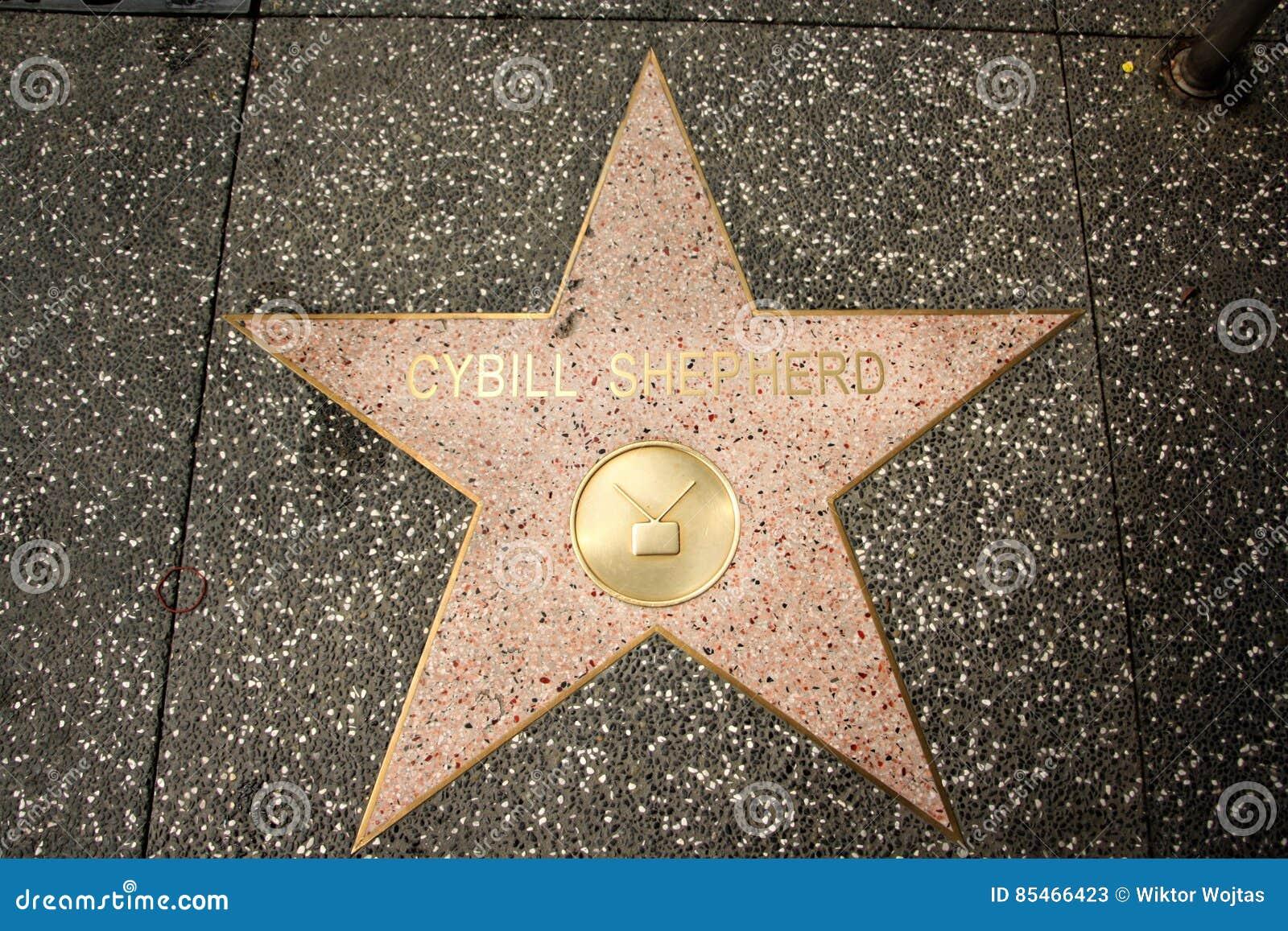 Paseo de la fama - Cybill Shepherd de Hollywood
