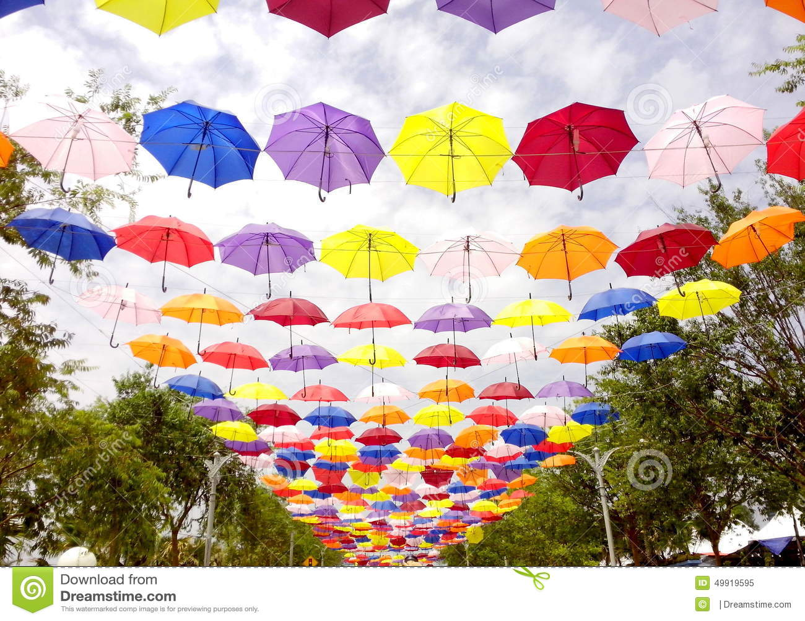 Paseo del paraguas