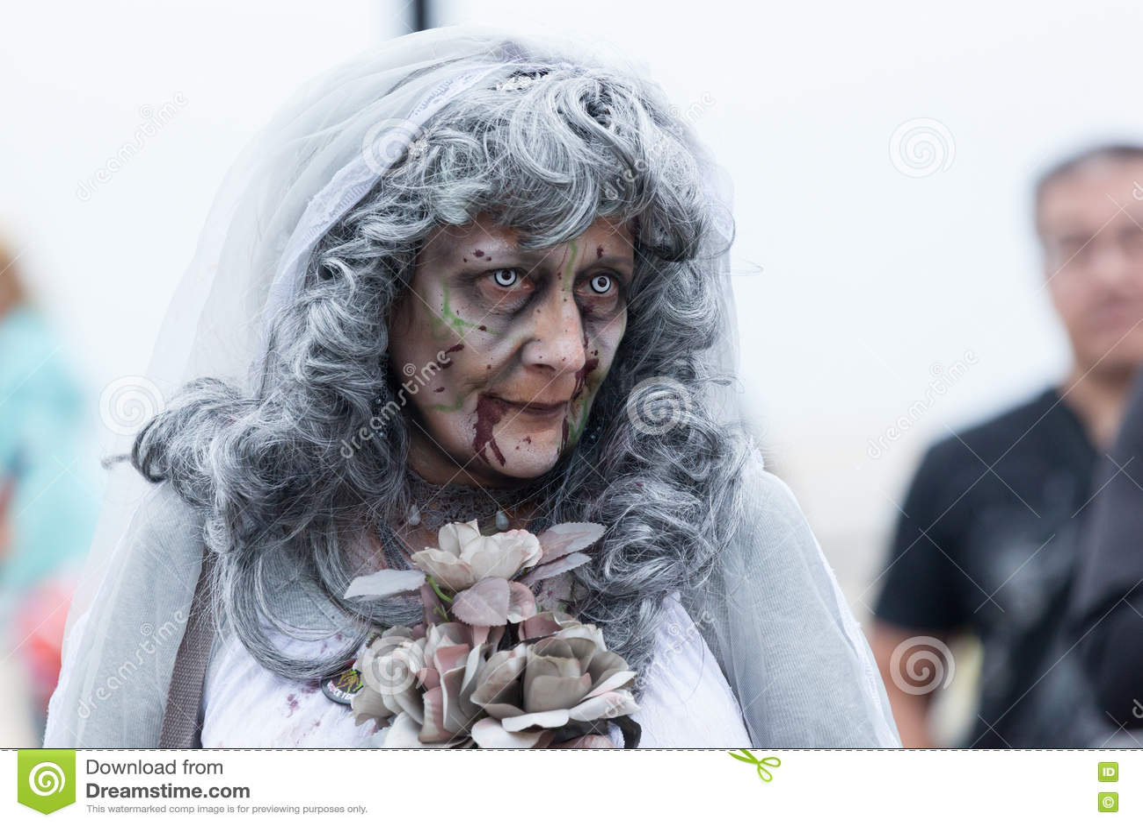 Paseo 2016 del zombi de New Jersey
