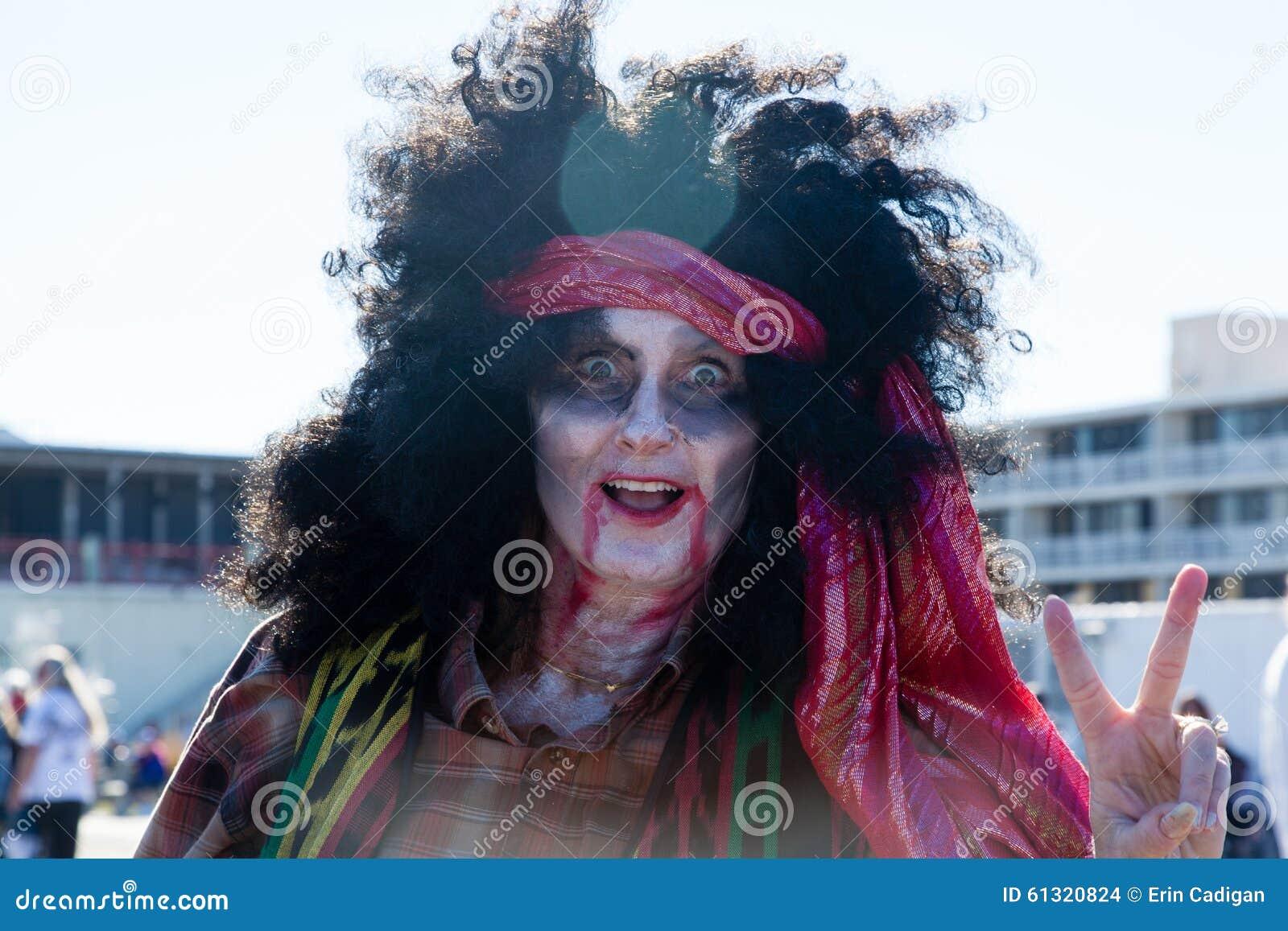 Paseo 2015 del zombi del parque de Asbury