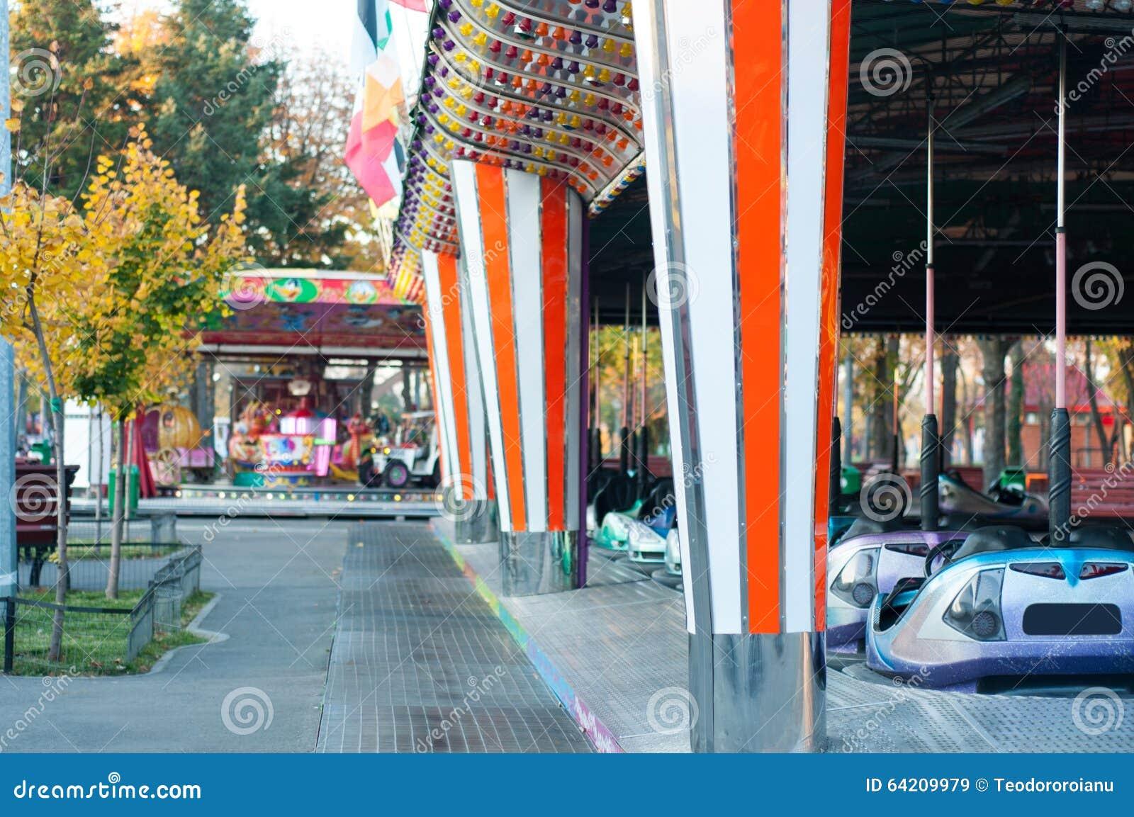 Paseos del parque de atracciones