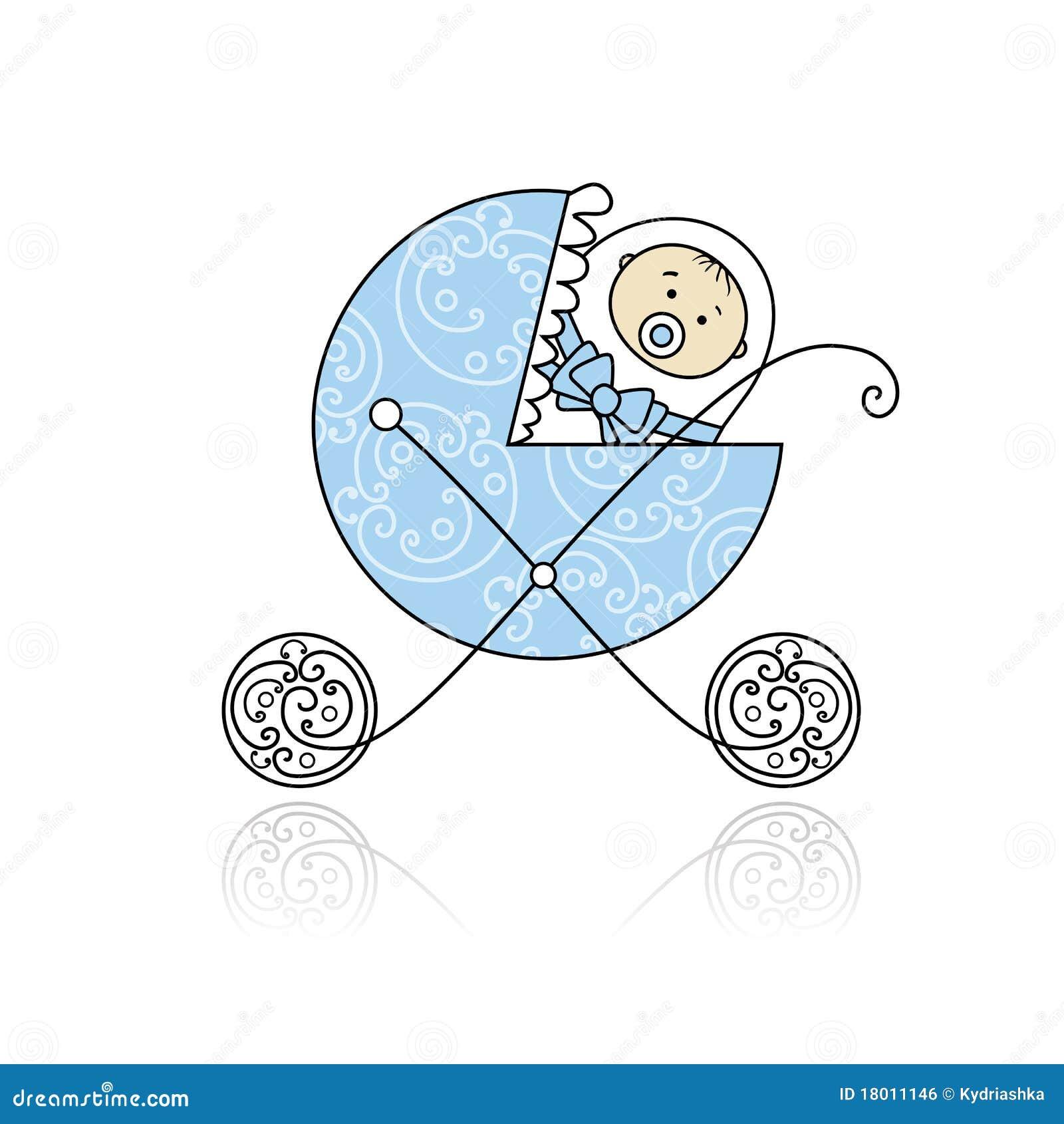 Pasgeboren In Baby Met Fouten Voor Uw Ontwerp Vector Illustratie