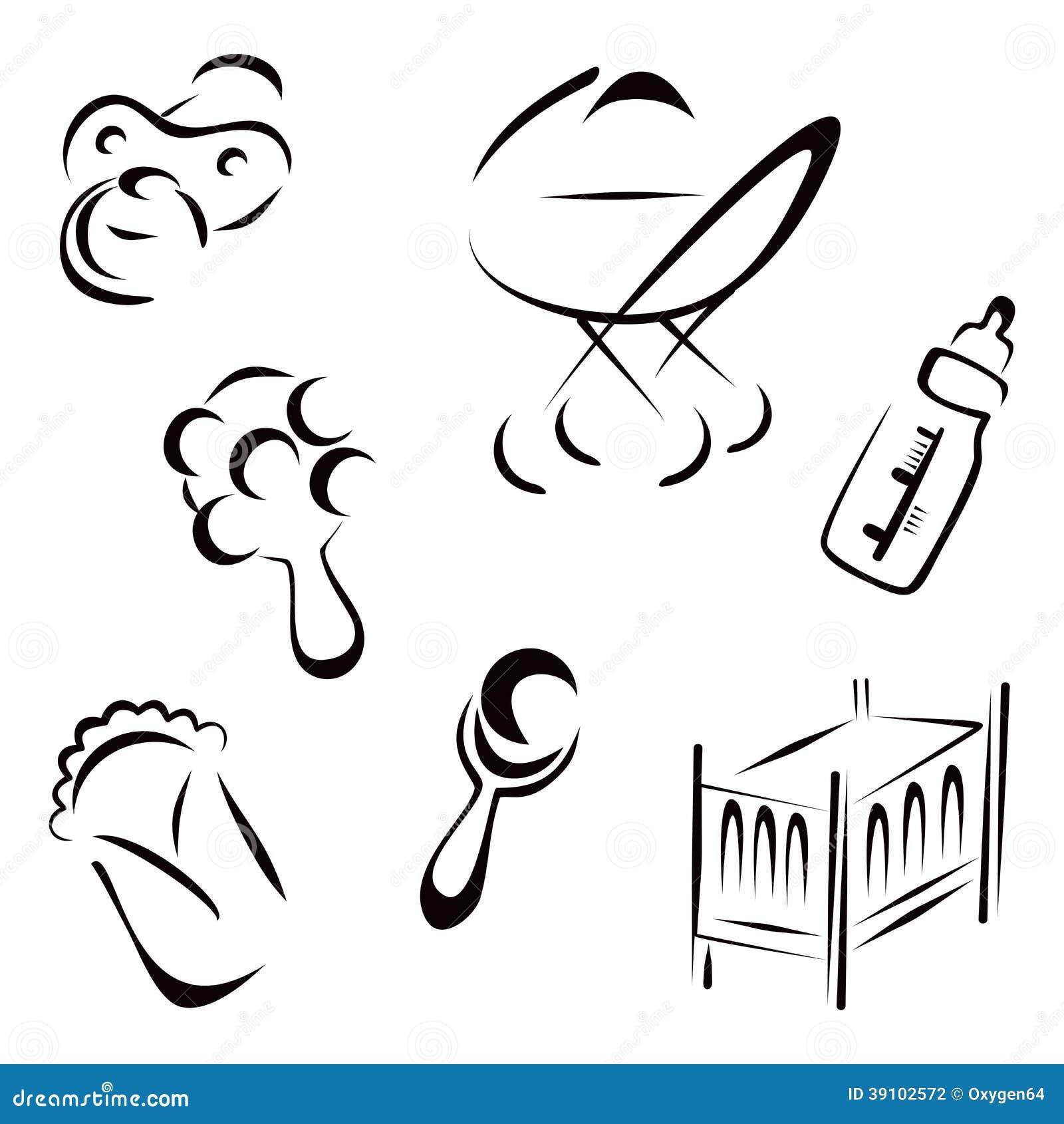 Pasgeboren symbolen