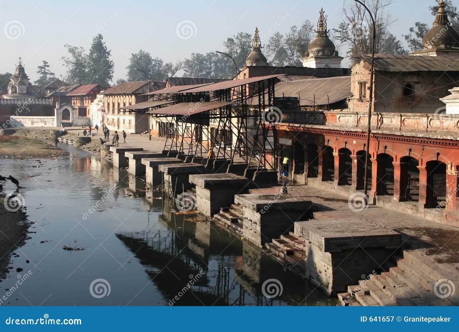 Download Pashupatinath Непала стоковое изображение. изображение насчитывающей sadhu - 641657