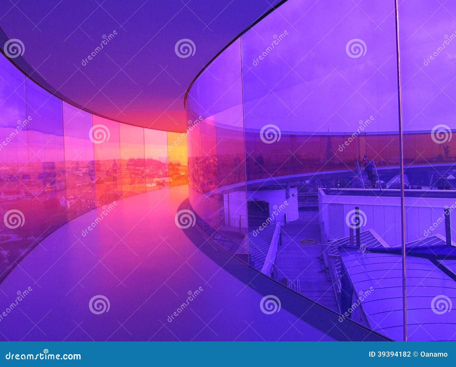 Pasillo del arco iris