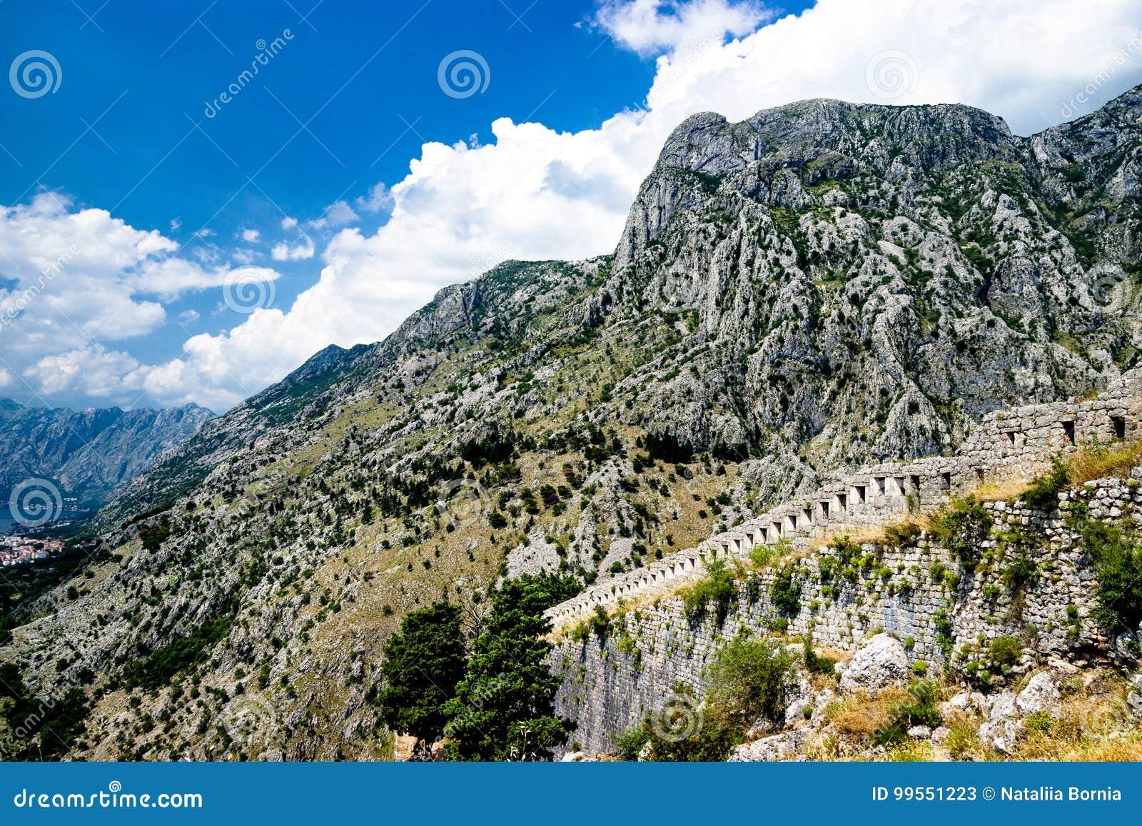 Pasma górskie Kotor, Montenegro