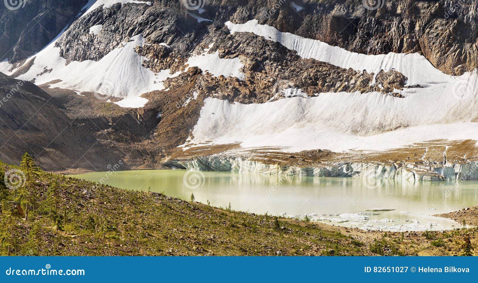 Pasmo Górskie krajobraz, Skaliste góry, Kanada