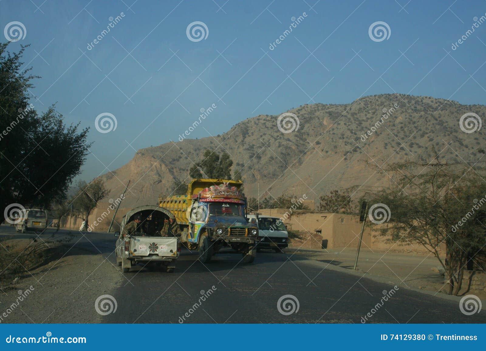 Paso de Khyber en Paquistán