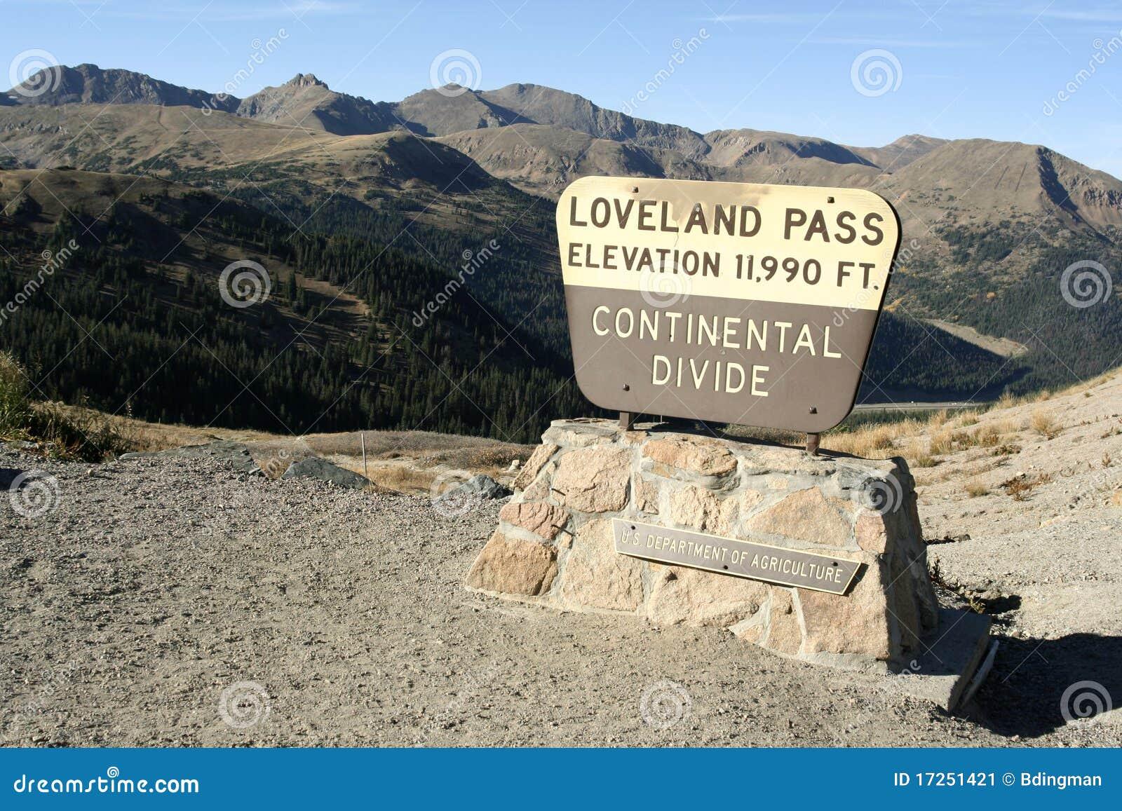 Paso de Loveland - Colorado