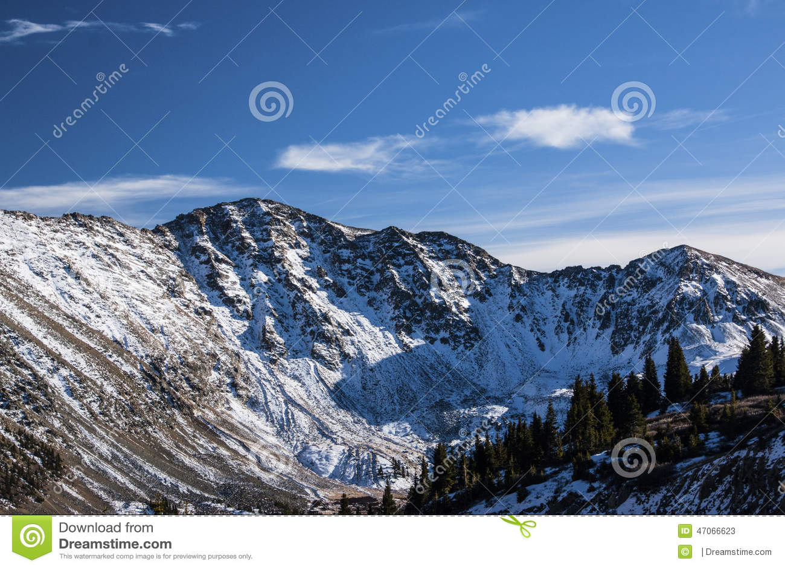 Paso de Loveland en Colorado