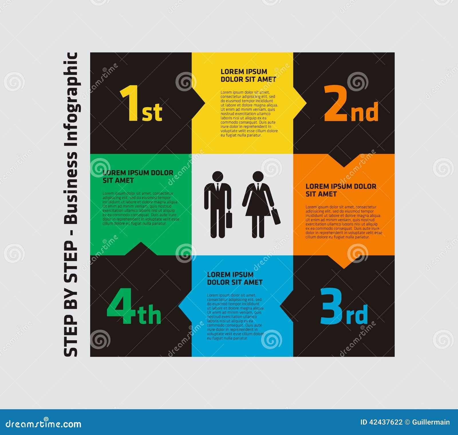 4 paso Infographic