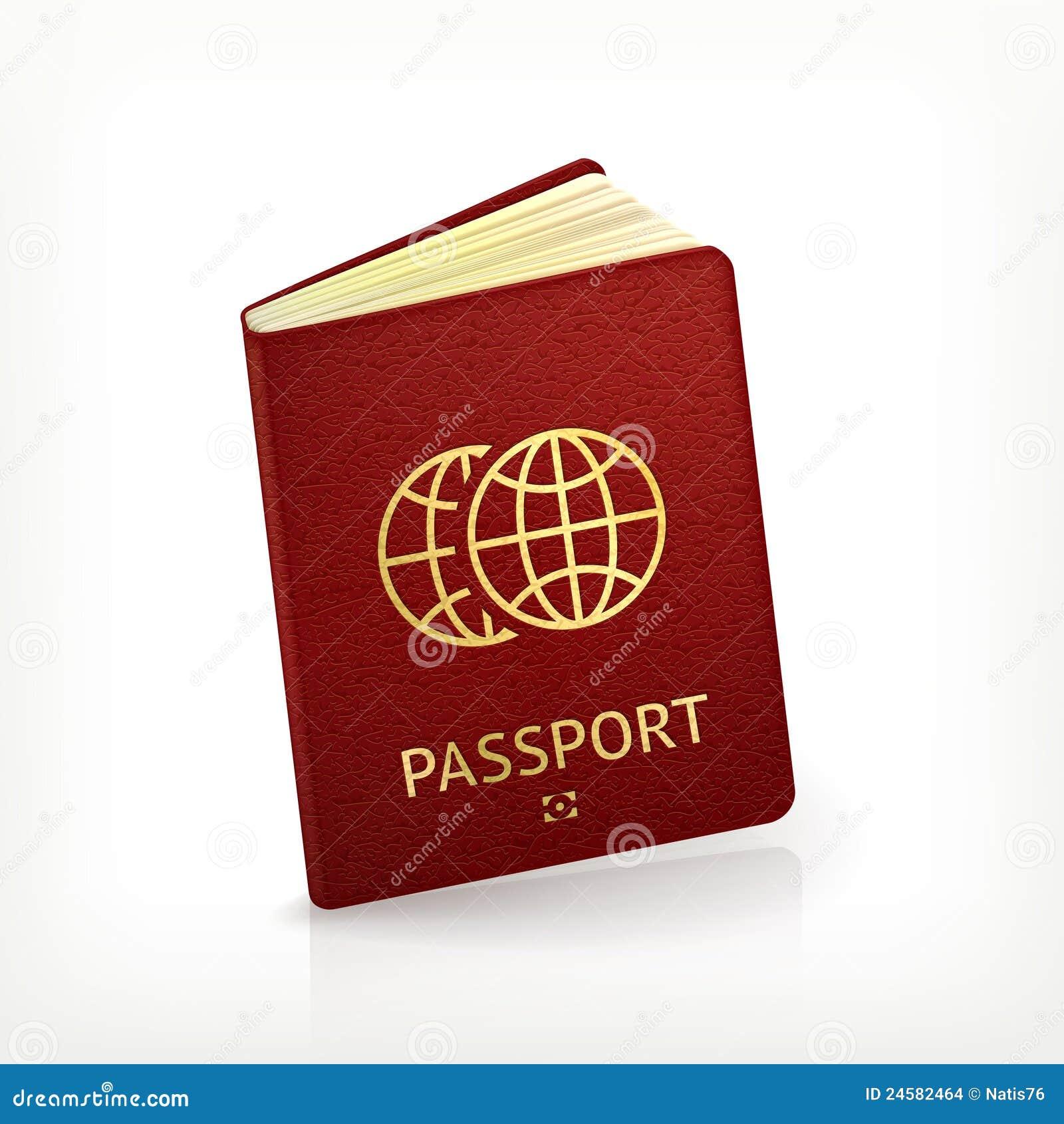 Paspoort stock afbeeldingen afbeelding 24582464 - Geloofsbrieven ontwerp ...