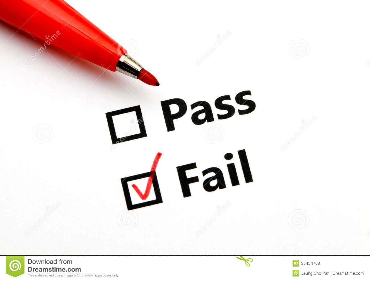 Pass or fail stock photo image of pass abstract writing for Www famil