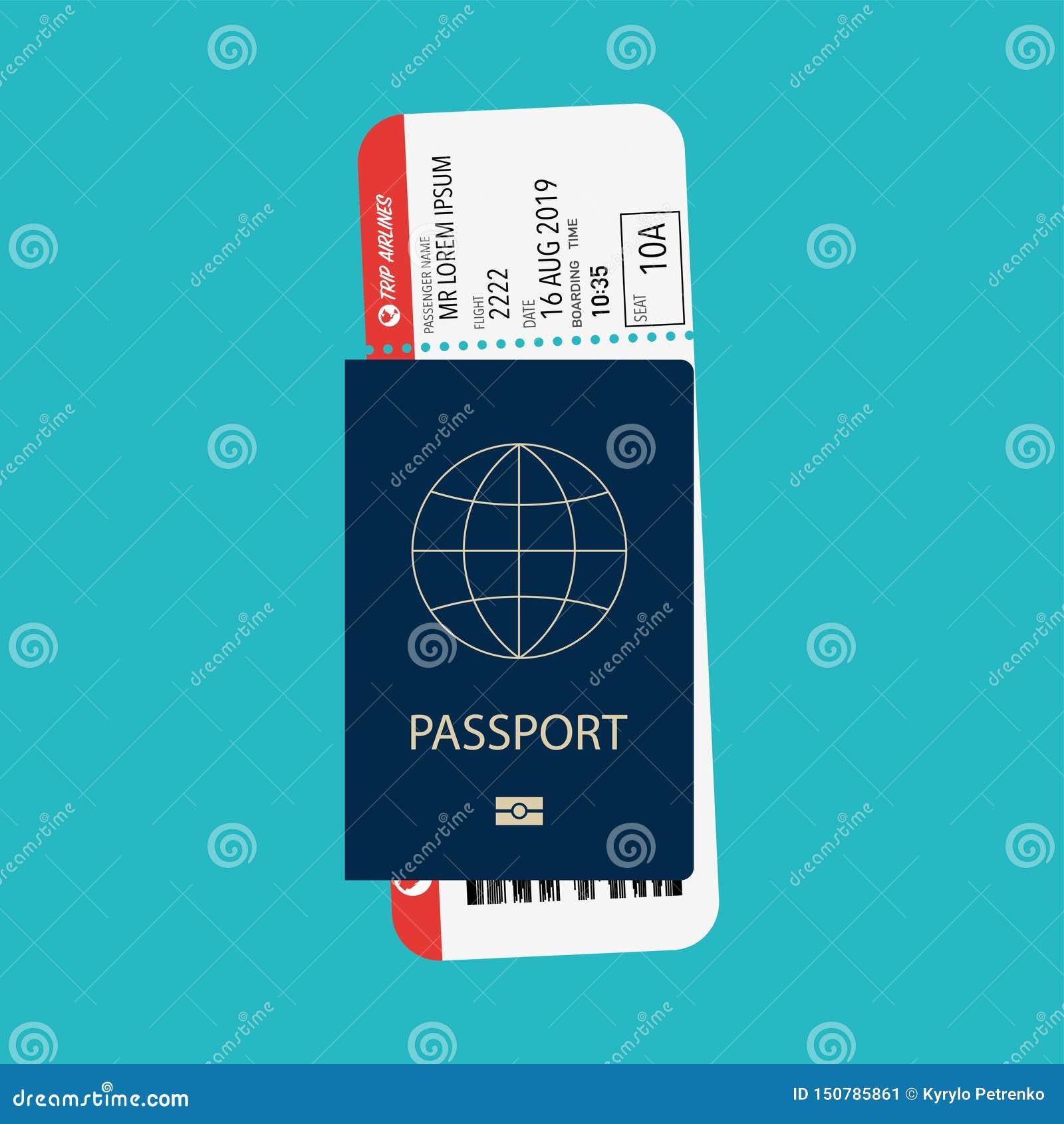 Pass mit dem Pfosten vorbereitet für verschalendes Flugzeug