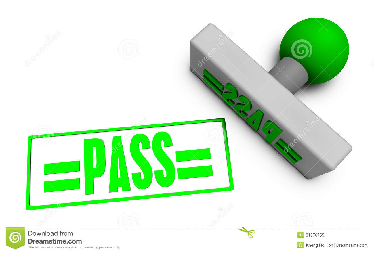 Pass stamp royalty free stock photo image 31376755