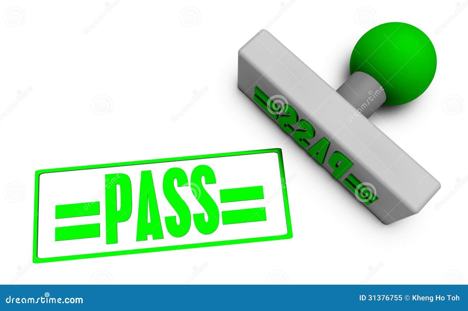 Pass Stamp Royalty Free Stock Photo Image 31376755