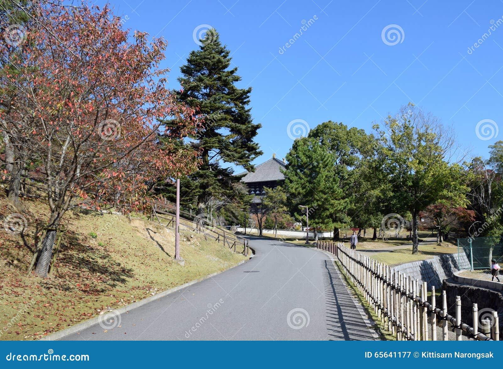 Passage couvert à Nara