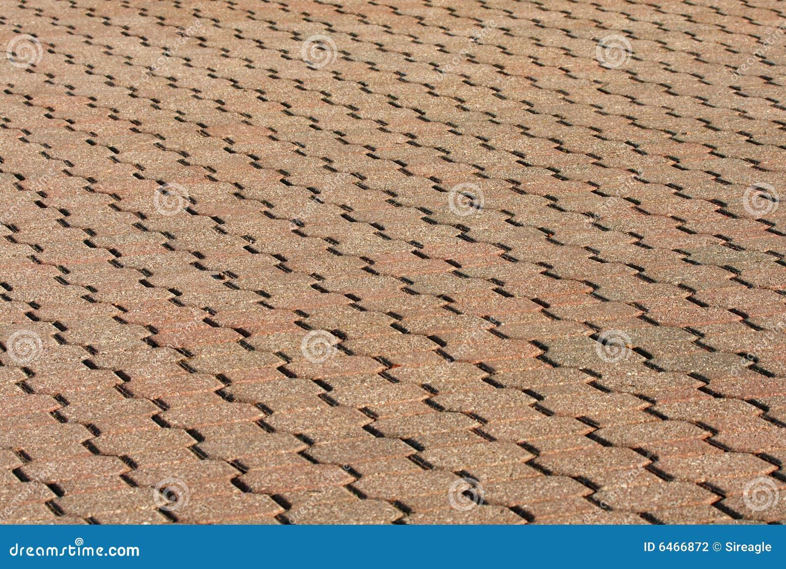 Passage couvert de brique