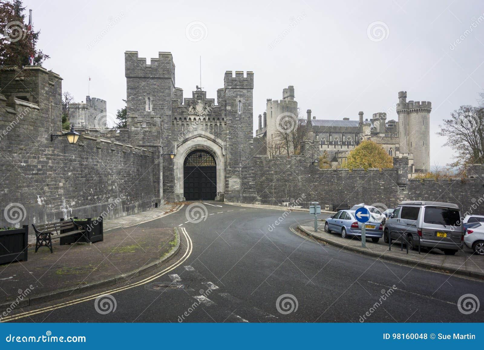 Passage de château d Arundel