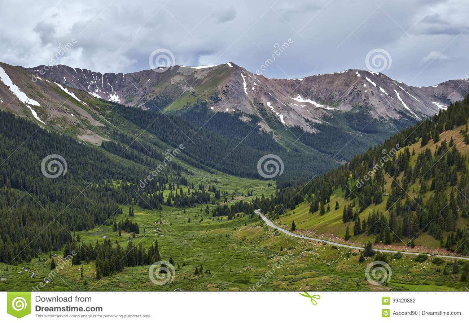 Passage de l indépendance, le Colorado