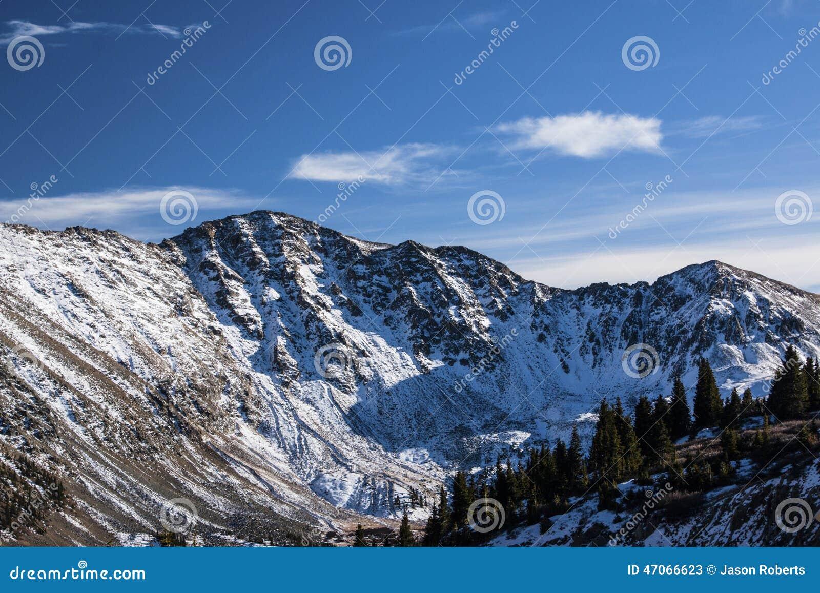 Passagem de Loveland em Colorado