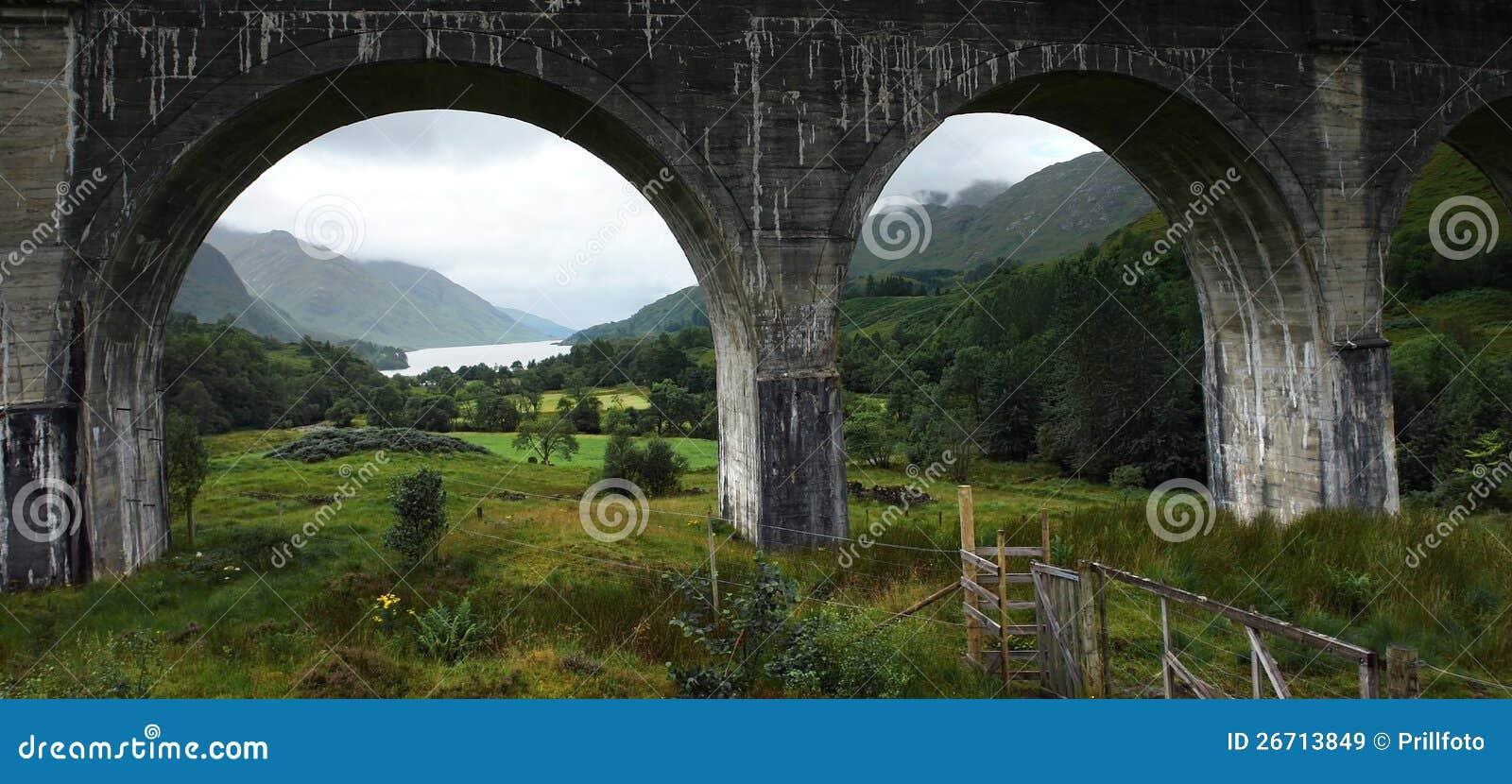 Arcades du viaduc de Glenfinnan