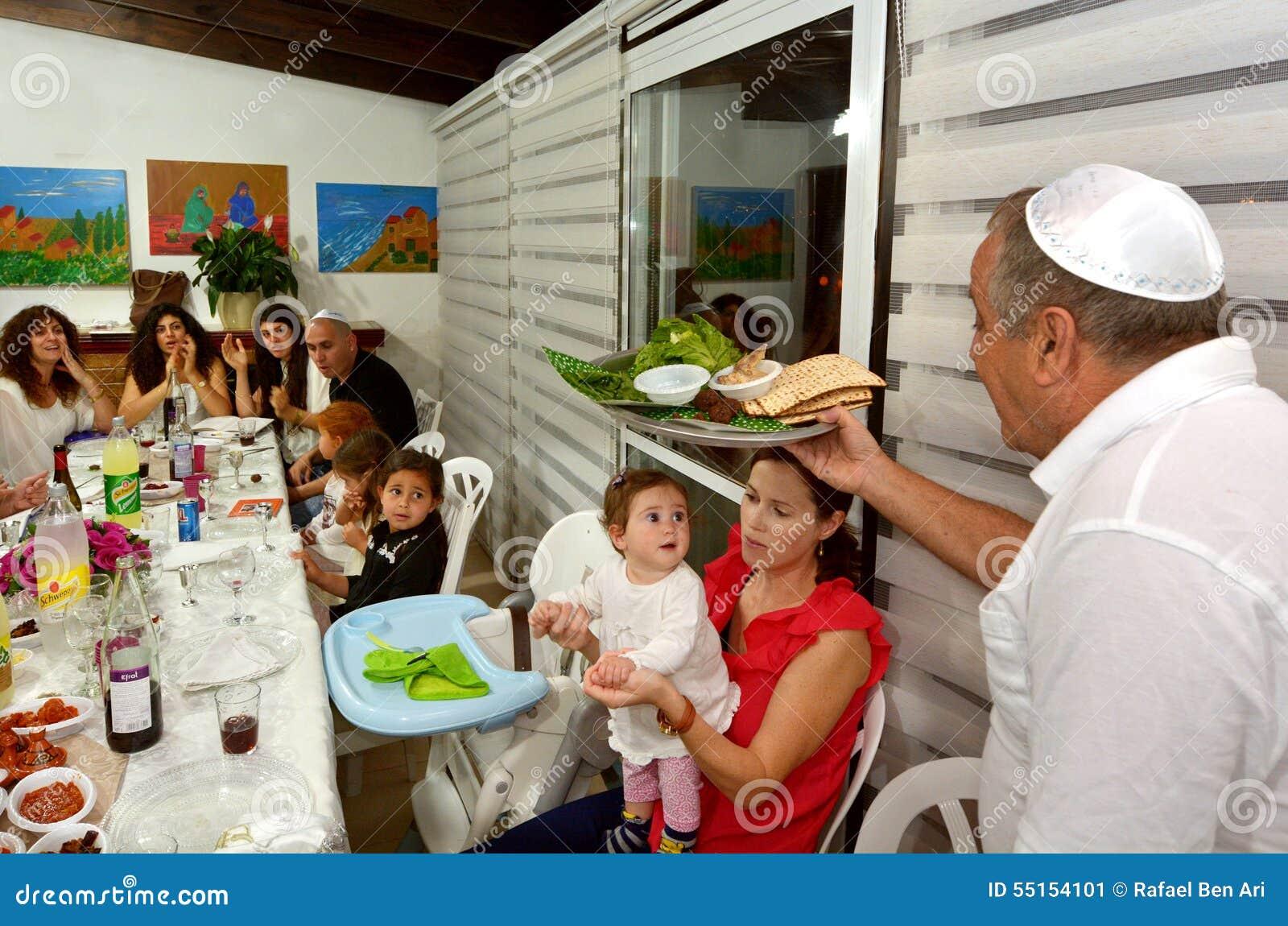 Passahfest Seder - jüdische Feiertage