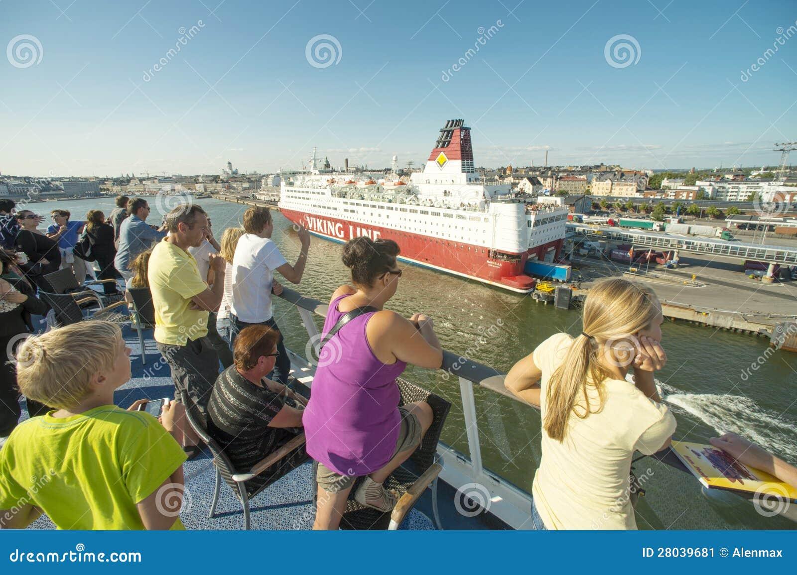 Passangers de bateau de croisière