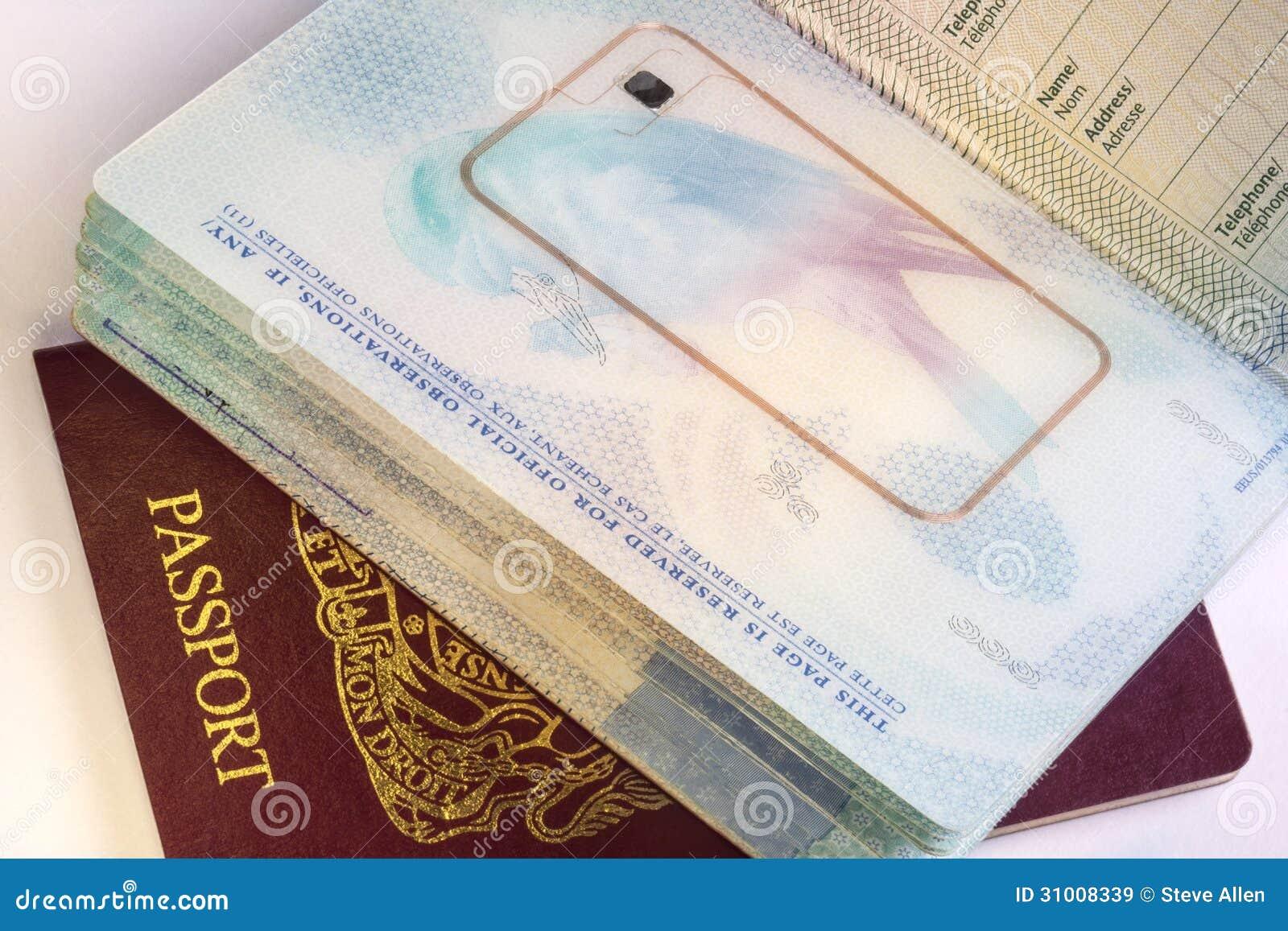 Passaporte biométrico – sinal da besta?