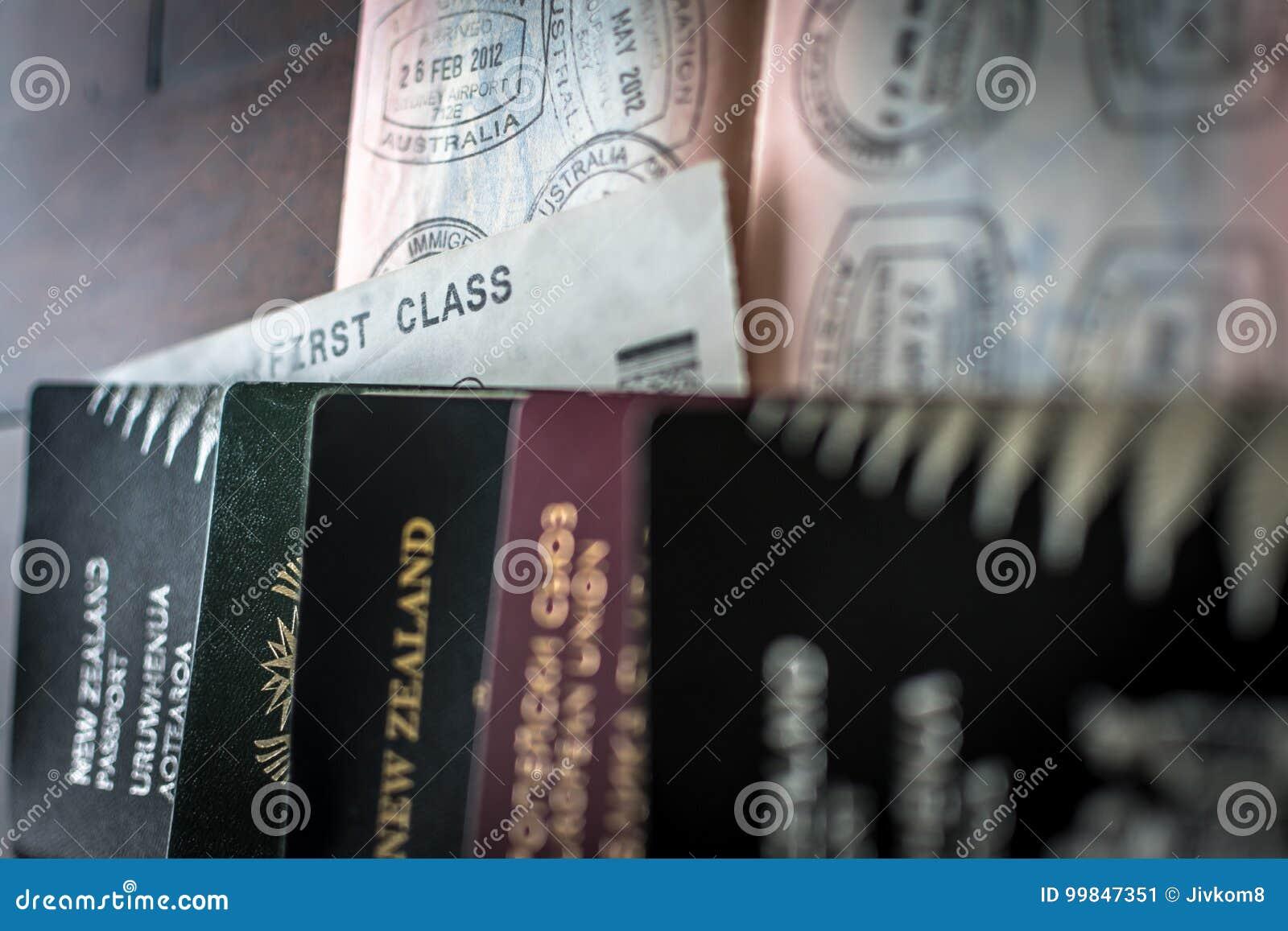 Passaportes e visto
