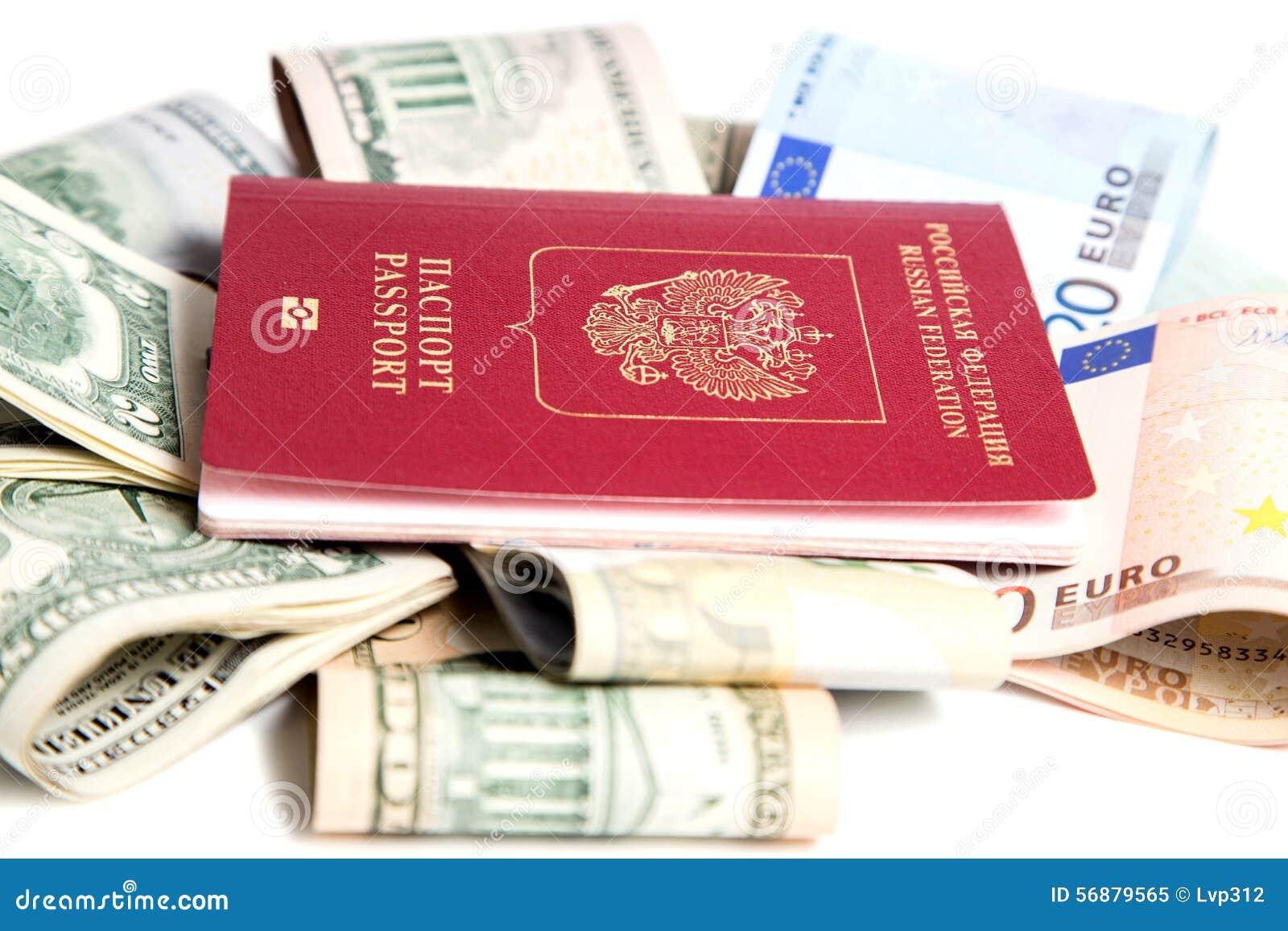 , Passaporto russo e valuta